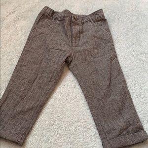 Gray / black dress pants